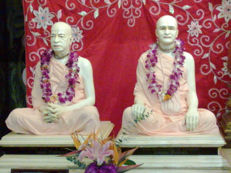 Srila Prabhupada and His Guru Maharaja in Hawai